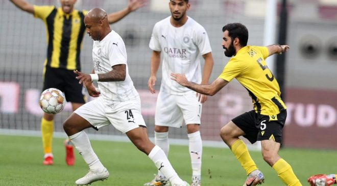 Andre Ayew scores first goal for Al Sadd